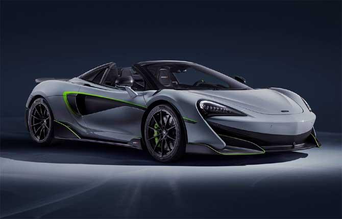 McLaren Special Operations incanta con la 600LT Spider