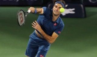 Tennis, Dubai: Federer torna e vince. Battuto Kolschreiber al primo turno