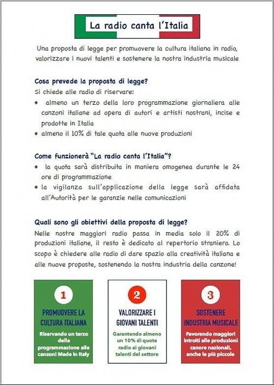 """Mogol si schiera a favore della radio sovranista: """"Sì alla battaglia per più musica italiana"""""""