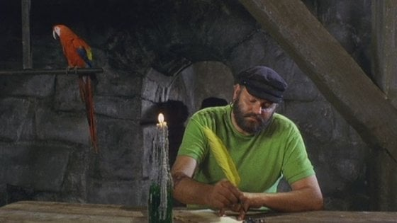 È morto il pappagallo della serie tv 'Pippi Calzelunghe': aveva 51 anni