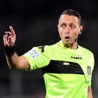 Serie A: l'arbitro Abisso fermato per un mese, niente Inter fino a fine stagione