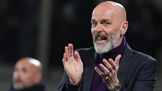 """Fiorentina, Pioli: """"Gli errori della Var capitano e vanno accettati"""""""