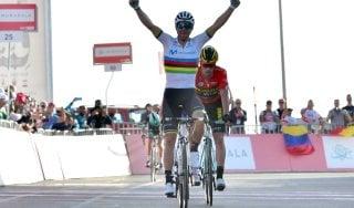 Ciclismo, UAE Tour: riecco Valverde, prima vittoria da campione del mondo