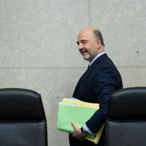 Ue: In Italia squilibri eccessivi, Manovra non aiuta la crescita. Moscovici: Situazione preoccupante