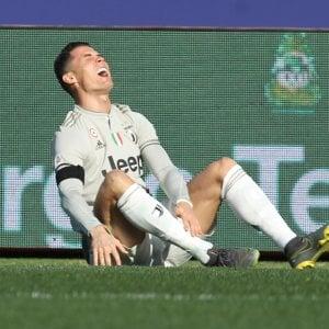 Juventus, Cristiano Ronaldo a rischio per il Napoli