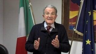"""Videoappello di Prodi: """"Ecco perché andare a votare domenica per le primarie del Pd"""""""