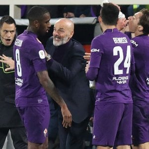 """Fiorentina, Pioli: """"Possiamo vincere a Bergamo, ci crediamo"""""""