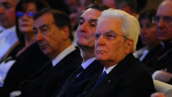 """Mattarella: """"Sarei soddisfatto se il Paese ragionasse in termini di decenni"""""""