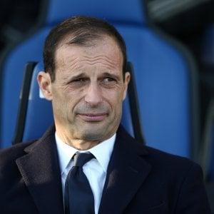 Juventus, Massimiliano Allegri sparito dai social