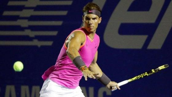 Acapulco: Nadal inciampa su Kyrgios. Dubai: Federer in semifinale