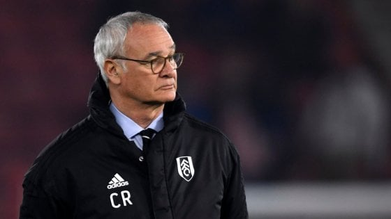 Fulham, ufficiale l'esonero di Claudio Ranieri