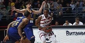 Milano, play off più vicini Khimki ko in casa: 88-90