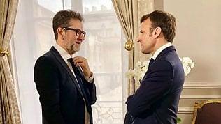 Rai, Fazio: Domenica intervista al presidente francese Macron