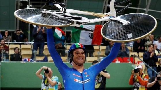 Italia d'oro ai Mondiali di ciclismo su pista con Filippo Ganna