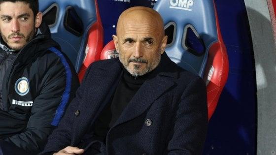 """Inter, Spalletti: """"Pessimo primo tempo. Icardi? In campo farà il bene della squadra"""""""