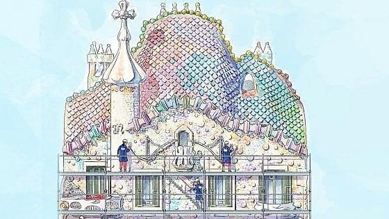 Barcellona, Casa Batlló: una passerella sospesa a 30 metri per ammirare il gioiello di Gaudí