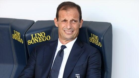 Juventus, Allegri: ''Futuro? Più avanti deciderò, addio ai social scelta normale''