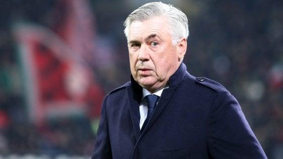 Napoli, Ancelotti: ''Possiamo battere la Juve. Chiudere la carriera qui? Perché no''