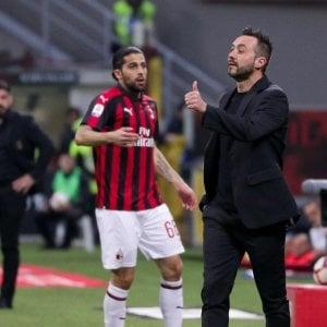 """Sassuolo, De Zerbi: """"Una sconfitta da prendere con orgoglio"""""""