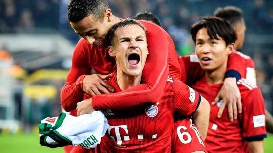 Germania, Bayern, una cinquina per l'aggancio in vetta al Dortmund