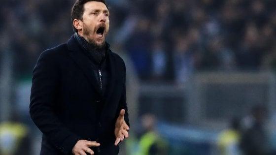 """Roma, Di Francesco: """"Abbiamo commesso troppi errori"""""""