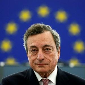 Il governatore della Bce, Mario Draghi