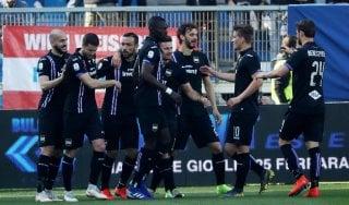 Spal-Sampdoria 1-2: super Quagliarella, estensi affondati