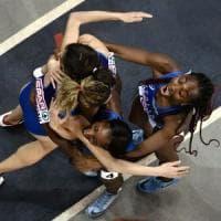 Atletica, Europei indoor: bronzo delle azzurre nella 4x400