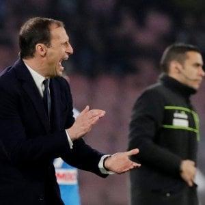 """Juventus, Allegri: """"Dobbiamo fare meglio. Futuro? Sto bene qui"""""""