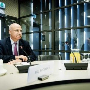 """Bill Browder: """"L'Europa sia più forte contro la Russia: Putin teme le sanzioni"""""""