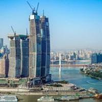 Raffles City Chongqing, in Cina il grattacielo orizzontale più alto del mondo