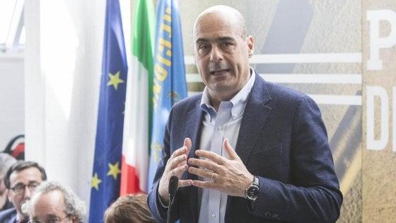 """La scommessa di Zingaretti: """"Farò un partito capace di governare niente furbizie con i Cinquestelle"""""""