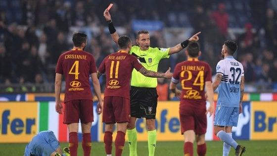 Giudice sportivo: la Roma ne perde tre, il laser costa 20 mila euro al Napoli