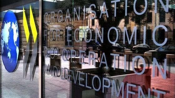 Crescita, l'Ocse vede l'Italia sottozero: taglia il Pil dell'intero 2019 a -0,2%