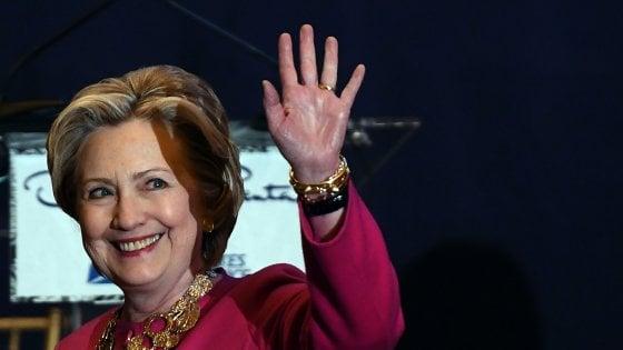 """Presidenziali Usa, Hillary Clinton: """"Non mi candiderò ma difenderò ciò in cui credo"""""""