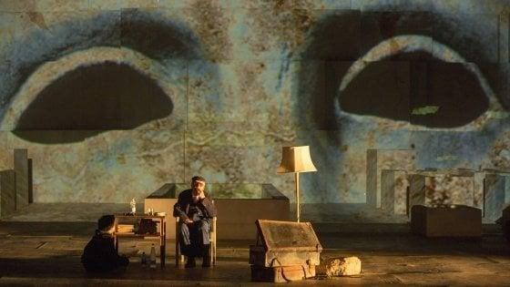 Camilleri e il suo Tiresia in tv, lo spettacolo incanta (anche senza gli ascolti di Montalbano)
