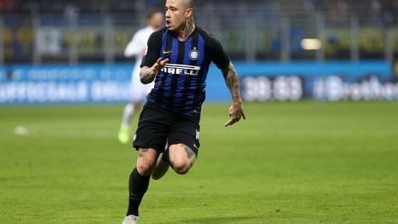 Inter, infortunio per Nainggolan: derby a rischio