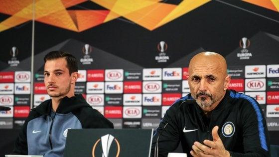 """Inter, Spalletti: """"Nella testa solo l'Eintracht, non c'è spazio per altro..."""""""