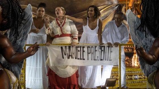 Brasile, il carro dedicato a Marielle Franco vince il carnevale di Rio