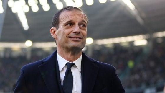 Juventus, Allegri: ''Se usciremo dalla Champions non sarà un fallimento''