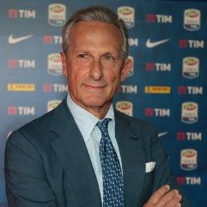 Gaetano Micciche' presiede la Lega Serie A (foto Emilio Andreoli/Getty Images)