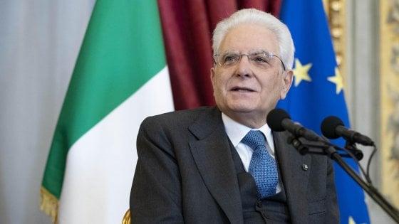 """8 marzo, Mattarella: """"La condizione delle donne attesta il grado di civiltà di un Paese"""""""