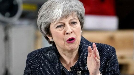 May, potremmo non uscire mai dall'Ue - Ultima Ora