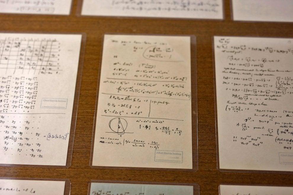I dubbi del genio: in mostra gli inediti di Einstein