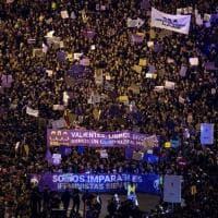 Otto marzo, da Madrid a Barcellona oltre 500mila manifestanti