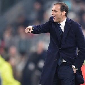 """Juventus, Allegri: """"Pronti per l'Atletico, faremo una grande gara"""""""