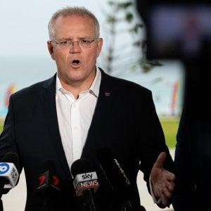 Il primo ministro australiano Scott Morrison