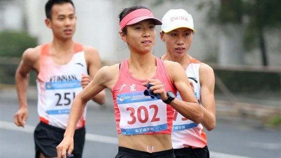 Atletica, 50 km marcia: Liu Hong sotto il muro delle 4 ore, nuovo record del mondo
