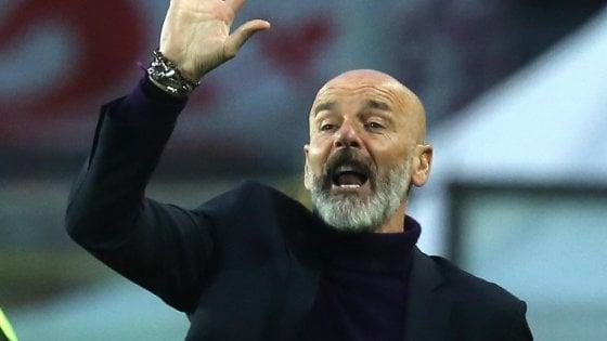 Fiorentina, Pioli: ''Con la Lazio scontro diretto per l'Europa''. Pjaca si rompe il crociato