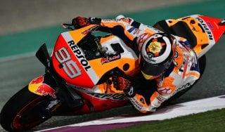MotoGp, Qatar: libere 3 a Marquez, Rossi è quarto ma farà il Q1